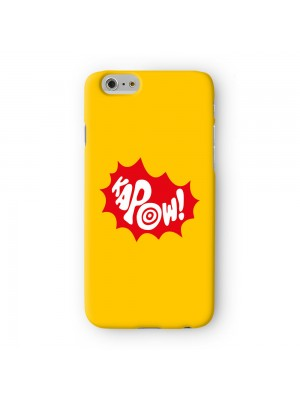 Kapow Full Wrap 3D Printed Case for Apple iPhone 6 6S Plus by Chargrilled