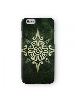 Mayan Star Full Wrap 3D Printed Case for Apple iPhone 7 7S Plus by DevilleArt
