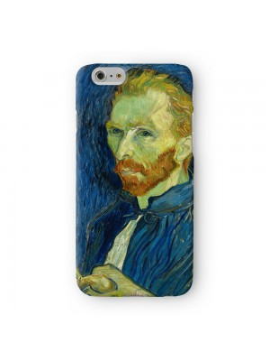 Self-Portrait 3 by Van Gogh Full Wrap 3D Printed Case for Apple iPhone 6 6S Plus by Painting Masterpieces