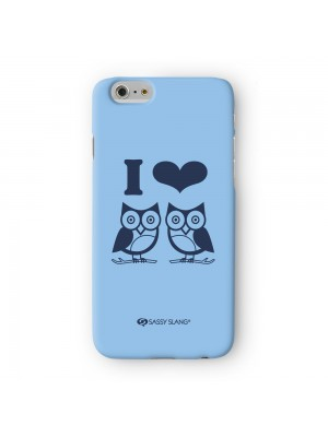 Sassy I Love Hooters #10062 Full Wrap 3D Printed Case for Apple iPhone 6 6S Plus by Sassy Slang