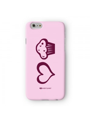 Sassy - Love Muffin #10008 Full Wrap 3D Printed Case for Apple iPhone 7 7S Plus by Sassy Slang