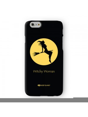 Sassy Witchy Woman #10463 Full Wrap 3D Printed Case for Apple iPhone 6 6S Plus by Sassy Slang