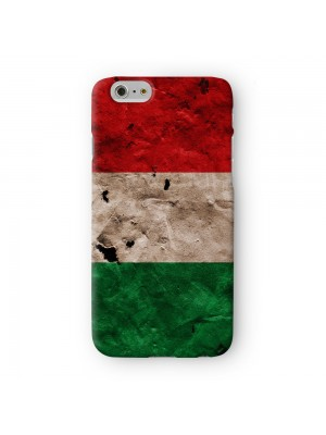 Grunge Paper Flag of Italy Italian Flag bandiera d'Italia Full Wrap 3D Printed Case for Apple iPhone 6 6S Plus by World Flags