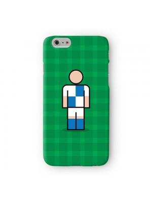 Bristol Blue Full Wrap High Quality 3D Printed Case for Apple iPhone 6 6S Plus by Blunt Football