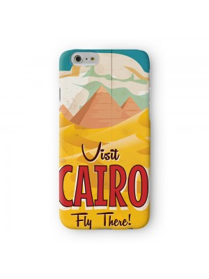 Cairo Full Wrap High Quality 3D Printed Case for Apple iPhone 6 6S Plus by Nick Greenaway