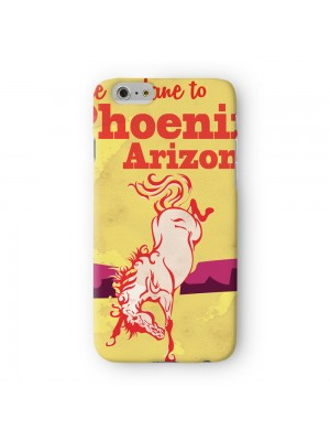 Pheonix Arizona Full Wrap High Quality 3D Printed Case for Apple iPhone 7 7S Plus by Nick Greenaway