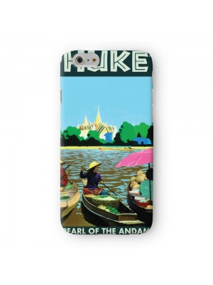 Phuket Full Wrap High Quality 3D Printed Case for Apple iPhone 7 7S Plus by Nick Greenaway
