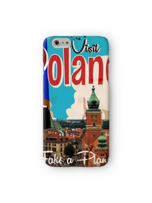 Poland Full Wrap High Quality 3D Printed Case for Apple iPhone 6 6S Plus by Nick Greenaway