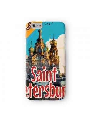 Saint Petersburg Full Wrap High Quality 3D Printed Case for Apple iPhone 7 7S Plus by Nick Greenaway