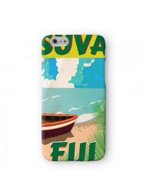 Suva Fiji Full Wrap High Quality 3D Printed Case for Apple iPhone 6 6S Plus by Nick Greenaway