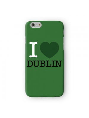 I Love Dublin 01 Full Wrap High Quality 3D Printed Case for Apple iPhone 7 7S Plus by textGuy