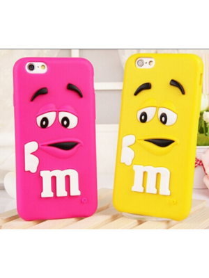 3D M&M iPhone 7/7 Plus Cases For iPhone 7/7 Plus plus 3D Cartoon Character Phone Cases