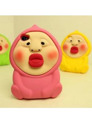 Cute 3d iPhone 5/5S Cartoon Case, iPhone 4/4S Case iphone 6 6s cases iPhone 7/7 Plus plus Cute pink cases