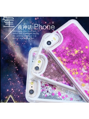 Luxury Bling Bling Starry Starry Stars Back Cover Case for iPhone 7/7 Plus 6s 6 Plus 5s