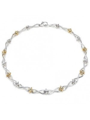 Lady Fashion Paloma's Twist 925 silver necklace