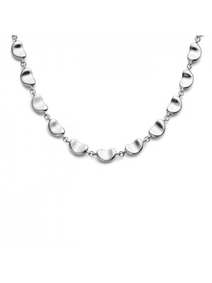 Lady Fashion Elsa Peretti Continuous Mini-mini BEAN 925 silver necklace