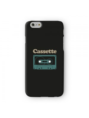 Cassette Full Wrap 3D Printed Case for Apple iPhone 6 6S Plus by Chargrilled