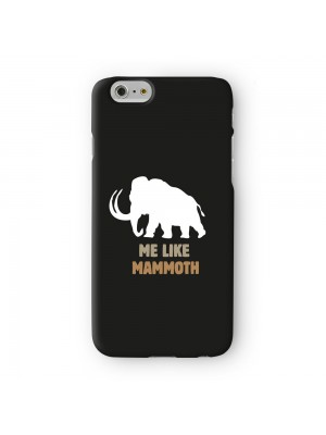 Me Like Mammoth Full Wrap 3D Printed Case for Apple iPhone 7 7S Plus by Chargrilled
