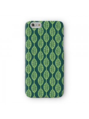 Leaves Full Wrap 3D Printed Case for Apple iPhone 6 6S Plus by Gadget Glamour