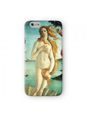 La nascita di Venere by Sandro Botticelli Full Wrap 3D Printed Case for Apple iPhone 7 7S Plus by Painting Masterpieces