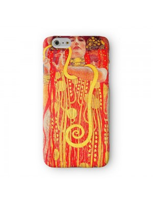 Medizin by Gustav Klimt Full Wrap 3D Printed Case for Apple iPhone 6 6S Plus by Painting Masterpieces