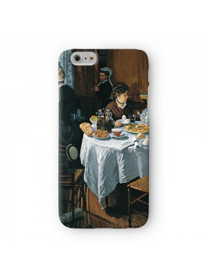 The Luncheon by Claude Monet Full Wrap 3D Printed Case for Apple iPhone 6 6S Plus by Painting Masterpieces