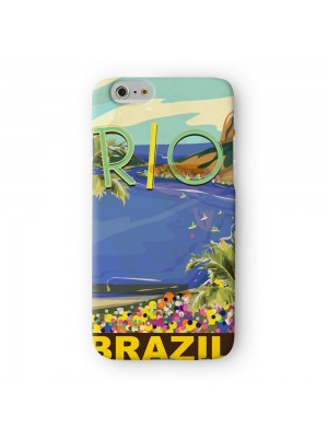 Rio Full Wrap 3D Printed Case for Apple iPhone 6 6S Plus by Nick Greenaway