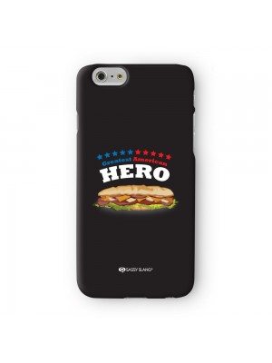 Sassy Greatest American Hero #10083 Full Wrap 3D Printed Case for Apple iPhone 6 6S Plus by Sassy Slang