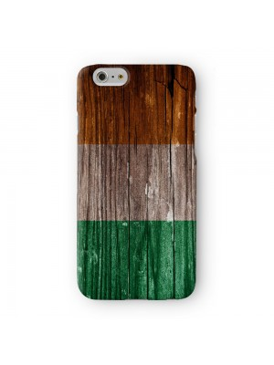 Vintage Wood Flag of Ireland - Irish Flag Full Wrap 3D Printed Case for Apple iPhone 7 7S Plus by World Flags