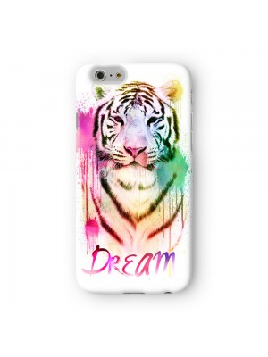 Watercolor Tiger 2 Full Wrap High Quality 3D Printed Case for Apple iPhone 6 6S Plus by Gangtoyz