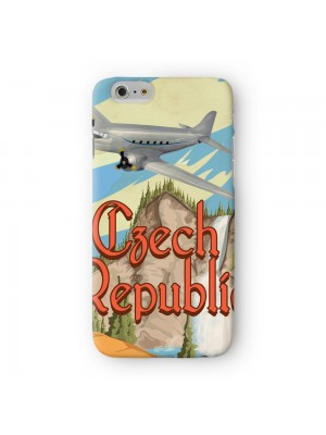 Czech Republic Full Wrap High Quality 3D Printed Case for Apple iPhone 6 6S Plus by Nick Greenaway