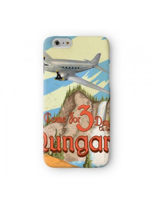 hungary Full Wrap High Quality 3D Printed Case for Apple iPhone 6 6S Plus by Nick Greenaway