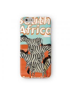 South Africa Full Wrap High Quality 3D Printed Case for Apple iPhone 7 7S Plus by Nick Greenaway