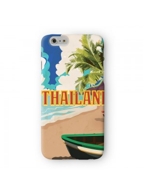 Thailand Full Wrap High Quality 3D Printed Case for Apple iPhone 6 6S Plus by Nick Greenaway