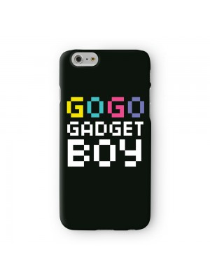 Gogo Gadget Boy Full Wrap High Quality 3D Printed Case for Apple iPhone 6 6S Plus by textGuy