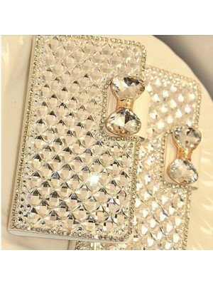 iPhone 7/7 Plus plus Luxury Bling Bling Crystal Diamond PU Leather Case for Samsung Galaxy S6 Edge Plus / Note 3 / Note 4 / Note 5