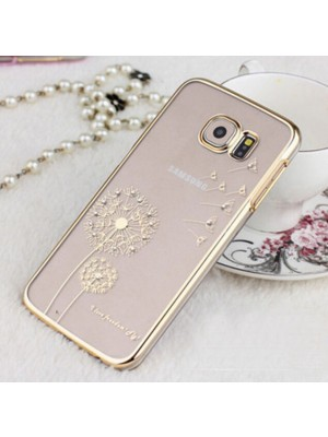 Luxury & Fashion Dandelion Diamond Case Protective Cover for Samsung Galaxy S6 Edge Plus Note 4 5 S7 S7 EDGE