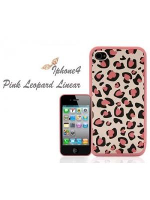 Xmas Gift Elegant Pink Leopard Case Cover for iPhone 5/5s/5c/6/6S/7 Plus (iPhone 7/7 Plus Plus cheetah cases)