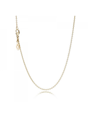 Lady Fashion 925 Sterling Silver Necklace in 14k