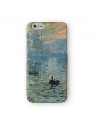 Impression soleil levant 2 by Claude Monet Full Wrap 3D Printed Case for Apple iPhone 7 7S Plus by Painting Masterpieces