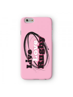 Sporty Live Love Rugby #20147 Full Wrap 3D Printed Case for Apple iPhone 6 6S Plus by Sporty Slang