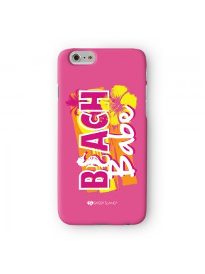 Sassy Beach Babe #10446 Full Wrap 3D Printed Case for Apple iPhone 6 6S Plus by Sassy Slang