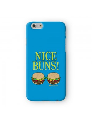 Sassy Nice Buns #10063 Full Wrap 3D Printed Case for Apple iPhone 6 6S Plus by Sassy Slang