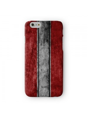 Grunge Wood Flag of Austria - Austrian Flag Full Wrap 3D Printed Case for Apple iPhone 7 7S Plus by World Flags
