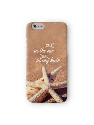 Salt in the Air Sand in my Hair Full Wrap 3D Printed Case for Apple iPhone 7 7S Plus by UltraCases