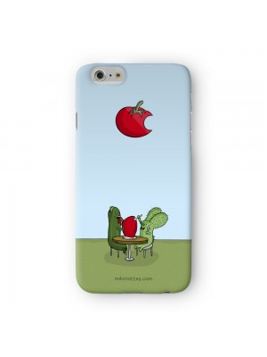 Rabtus and Cumber Tomato Full Wrap High Quality 3D Printed Case for Apple iPhone 6 6S Plus by Miki Mottes