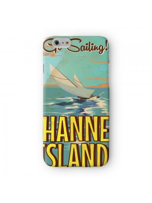 Channel Islands Full Wrap High Quality 3D Printed Case for Apple iPhone 6 6S Plus by Nick Greenaway