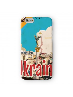 Ukraine Full Wrap High Quality 3D Printed Case for Apple iPhone 6 6S Plus by Nick Greenaway