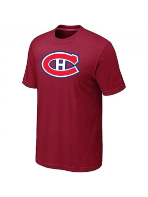 Montreal Canadiens Mens Team Logo Short Sleeve T-Shirt - Red