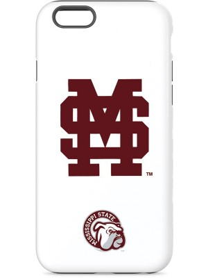 "Interlocking Red ""M"" and ""S"" Mississippi State Case For iPhone 6"